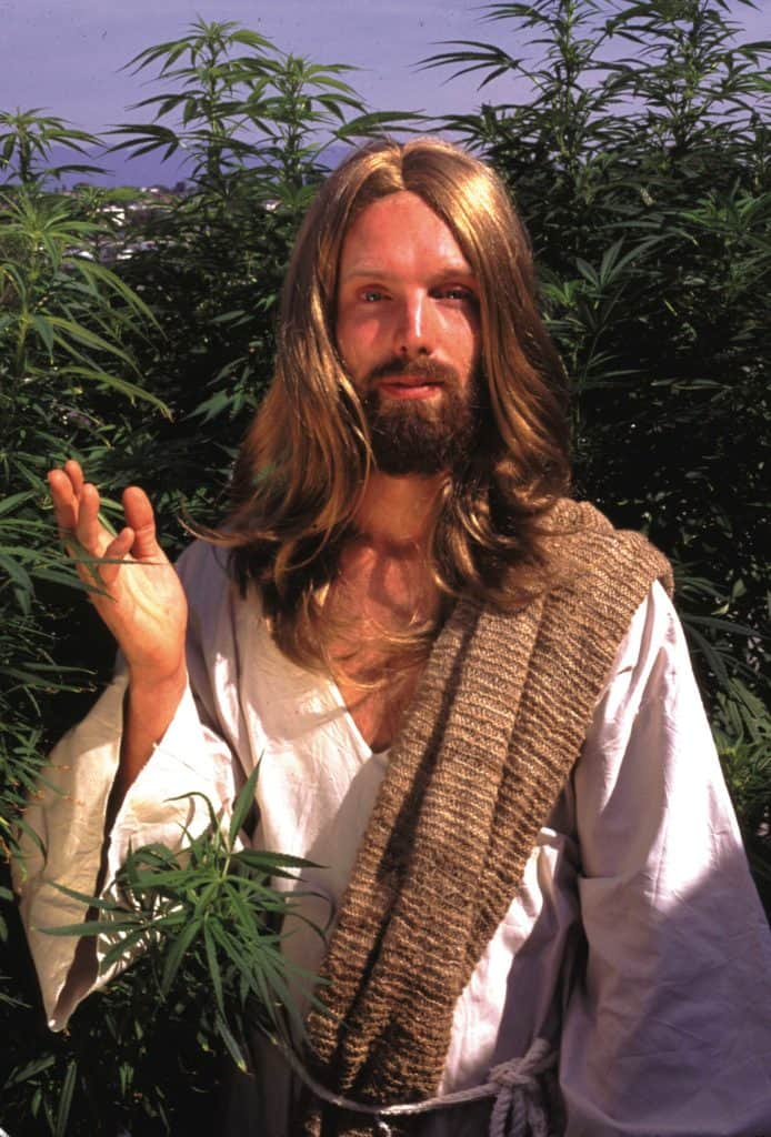 jesus and marijuana