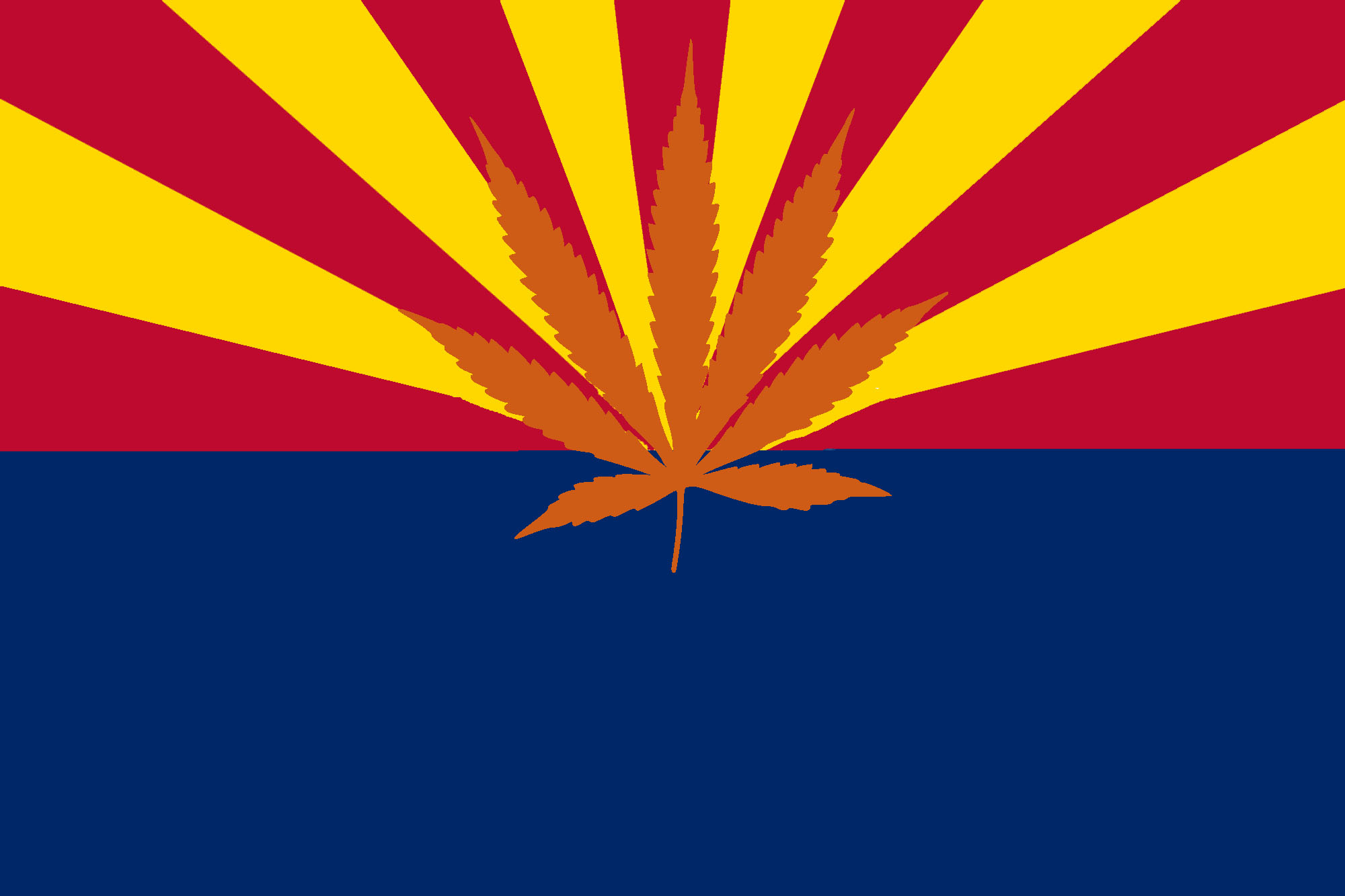 Arizona, state flag