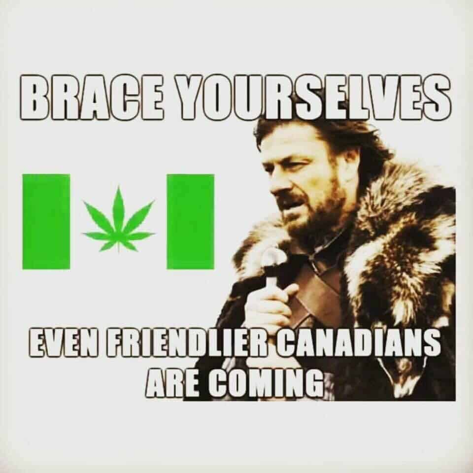 Our 10 Favorite Canadian Legalization Tweets and Memes